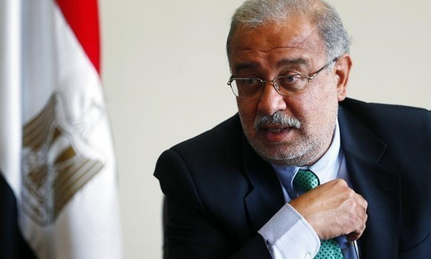 FILE- Prime Minister Sherif Ismail
