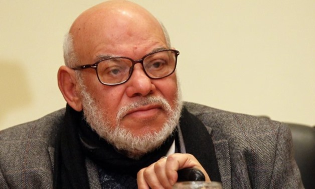 FILE: Kamal Al-Helbawi, former spokesperson of the outlawed Muslim Brotherhood (MB) and member of the National Council for Human Rights (NCHR)