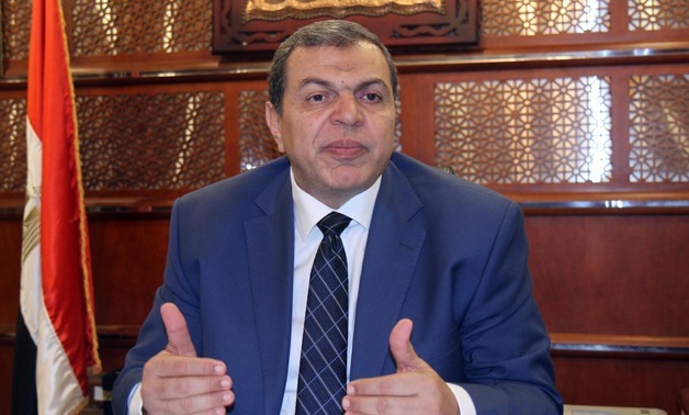 Minister of Manpower, Mohamed Saafan - Egypt Today/Ahmed Maarouf