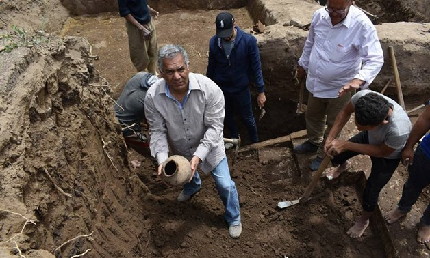 A royal celebrations hall dating back to the Ramses era was        discovered at Matareya district – Ministry of Antiquities Official        Facebook Page.
