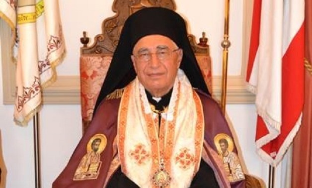 Melkite Greek Catholic Patriarch of Antioch Youssef Absi - CC Melkite Mouncil website