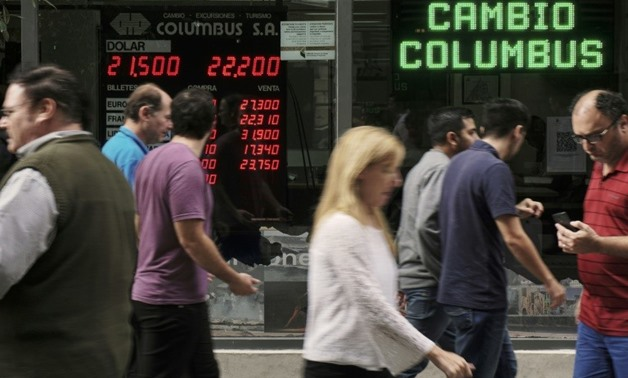 Argentina is turning to the IMF for financing as the peso is buffeted by market turbulence