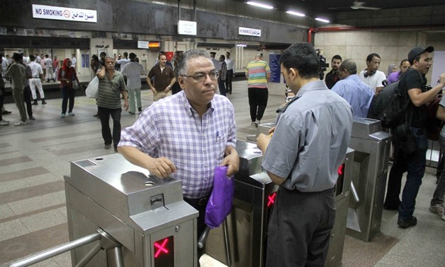 The Ministry of Transportation has increased the price of metro tickets for the second time in less than a year. Egypt Today/Photo by Hussien Tallal
