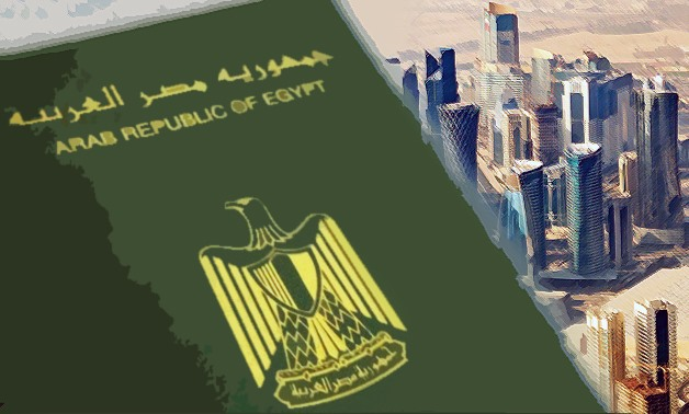 There are around 300,000 Egyptian nationals working in Qatar, according to the Ministry of Emigration and Egyptian Expatriates' Affairs – Photo illustrated by Egypt Today/Mohamed Zain