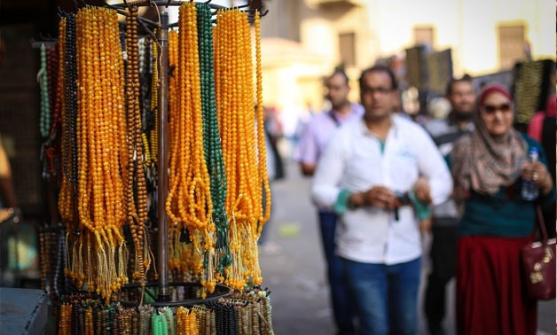 Rosaries craft, file photo.