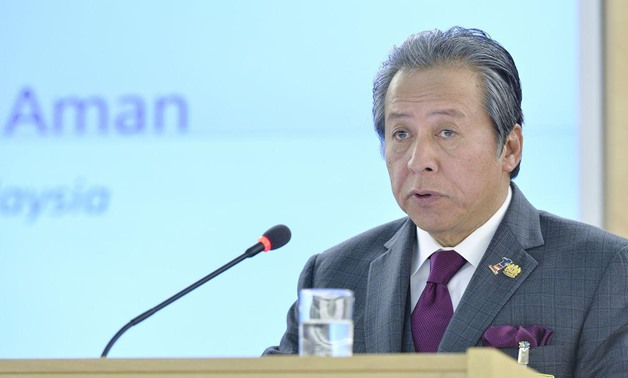Dato Sri Anifah Aman, Minister for Foreign Affairs of Malaysia [UN Geneva/Flickr]