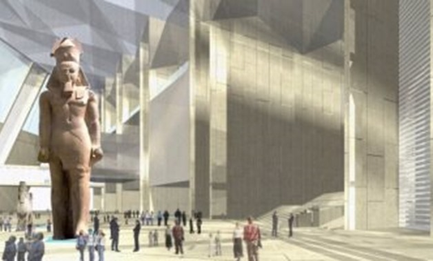 FILE - The Grand Egyptian Museum