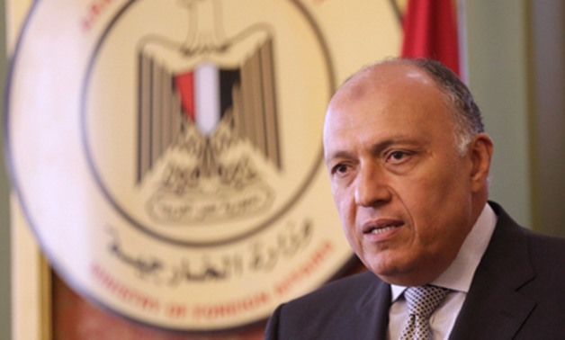 Egypt's Foreign Minister Sameh Shoukry - Reuters
