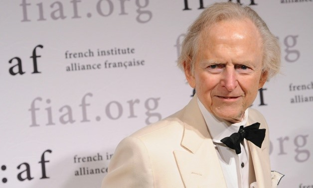 "Tom Wolfe, author of ""The Right Stuff"" and ""The Bonfire of the Vanities,"" has died at the age of 88-GETTY IMAGES/AFP/File / Fernando Leon"