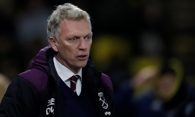 Vicarage Road, Watford, Britain - November 19, 2017 West Ham United manager David Moyes Action Images via Reuters/Andrew Couldridge