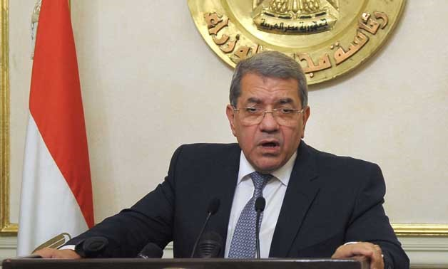Minister of Finance Amr El Garhy - (Archive)