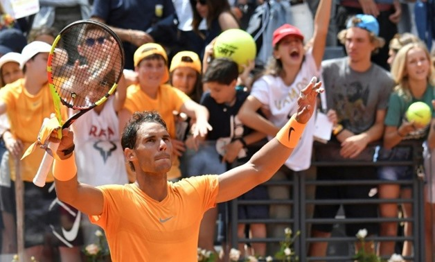 Rafael Nadal had lost at the quarter-final stage of his three previous trips to the Italian capital