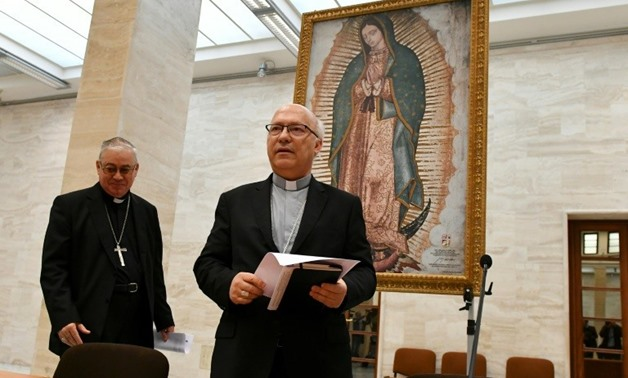 "In a statement, the 34 Chilean bishops asked ""forgiveness for the pain caused to the victims"""