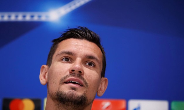 Anfield, Liverpool, Britain - May 21, 2018 Liverpool's Dejan Lovren during the press conference REUTERS/Andrew Yates