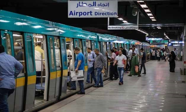 Cairo's Attaba Metro Station - Photo by Karim Abdel Aziz/Egypt Today