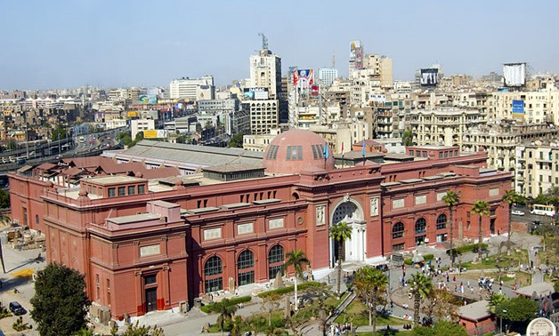 Egyptian Museum in Cairo – Wikimedia commons