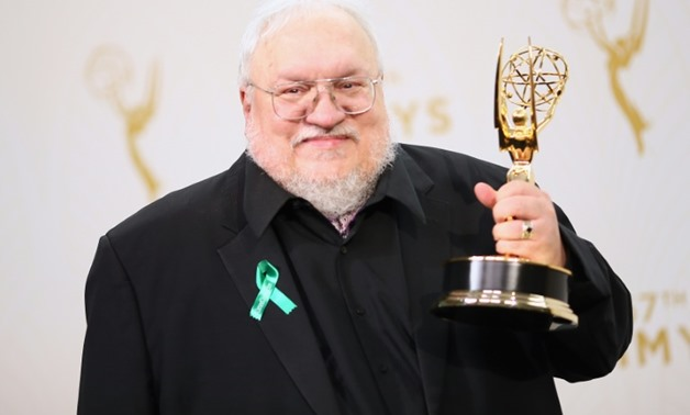 "Writer/producer George R.R. Martin, winner of the award for Outstanding Drama Series for ""Game of Thrones,"" will now see his story become an animated film-