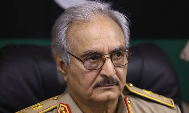 Field Marshal Khalifa Haftar, commander of the Libyan National Army / press photo