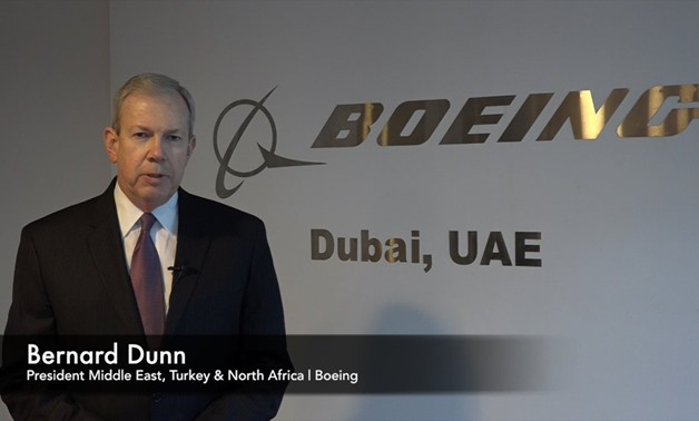Bernie Dunn, President of Boeing Middle East, North Africa and Turkey - Courtesy of Aerospace Summit official Twitter