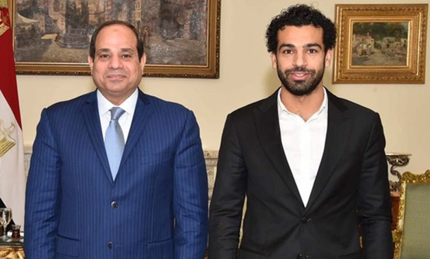 Sisi phones Mo Salah, assures Egyptians about his recovery