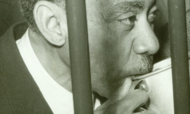 Sayyid Qutb in court in 1966- (AFP Photo)