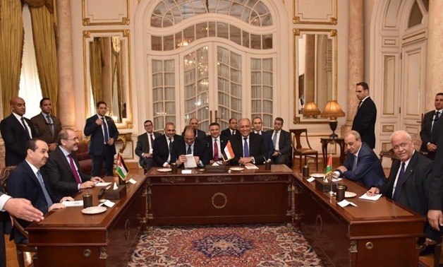 Egypt, Jordan's FMs discuss Palestinian reconciliation