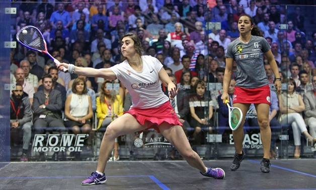 Nour El Sherbini and Raneem El Welily - Press image courtesy of PSA World Tour's official website