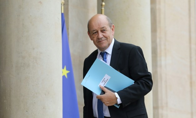 "French Foreign Minister Jean-Yves Le Drian called Iran's announcement that plans to boost its enrichment capacity ""inopportune"""