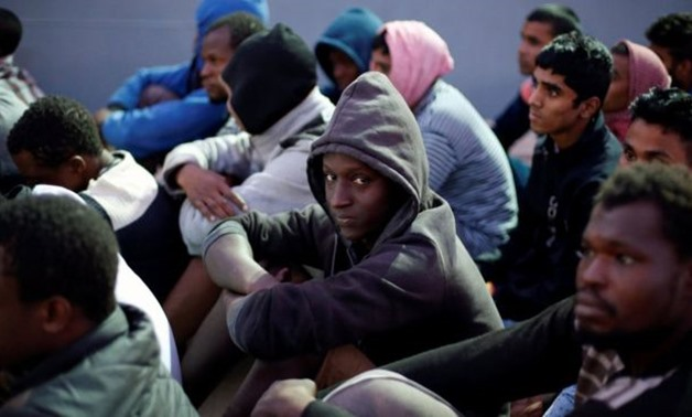 Libya is a key point on the route of hundreds of thousands of sub-Saharan African migrants - Reuters