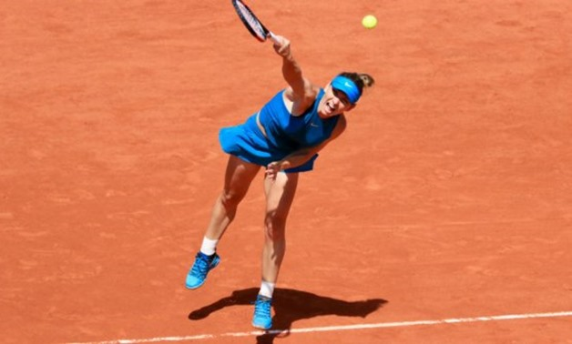 © Pierre René-Worms, FRANCE 24 | Simona Halep will play in her third French Open final on Saturday.