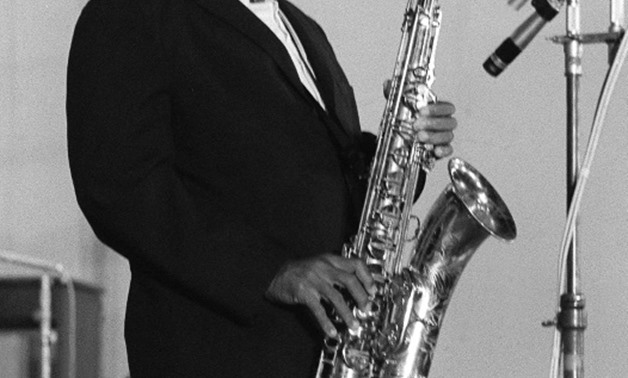 John Coltrane, seen performing in Paris in an undated photo, died from cancer in 1967.