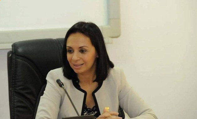 Dr. Maya Morsi, Chair of the National Council for Women - FILE