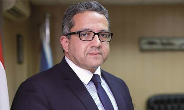 FILE- Minister of Antiquities Khaled al Anani