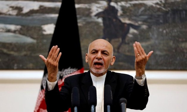 Afghanistan's President Ashraf Ghani speaks during a news conference in Kabul, Afghanistan July 11, 2016. REUTERS/Omar Sobhani