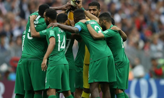 Four changes in Saudi Arabia's line-up against Uruguay