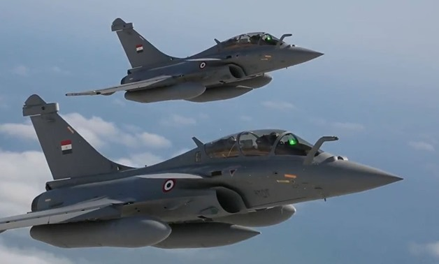 The official ceremony marking the acceptance by the Arab Republic of Egypt of its first three Rafales held at the Dassault Aviation flight test center in Istres, France, July, 2015 – Courtesy of Dassault Aviation