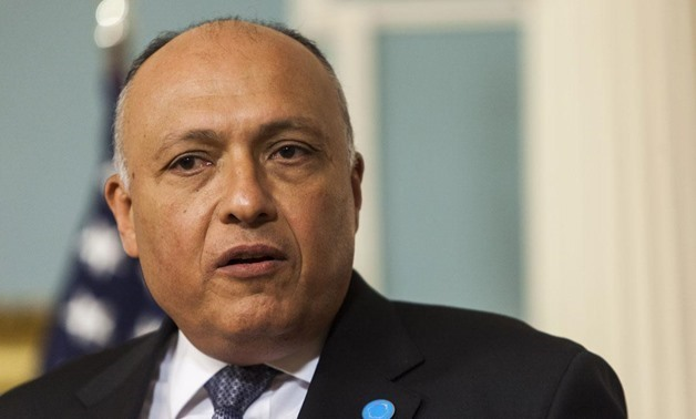 FILE- Minister of Foreign Affairs Sameh Shoukry – press photo