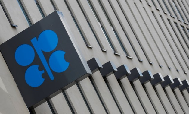 The OPEC logo is seen at OPEC's headquarters in Vienna - Reuters