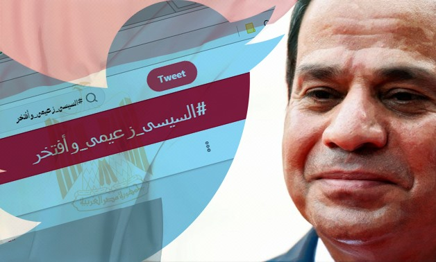 The hashtag gained more than 6,573,275 reaches and 10,000 retweets in a week – Photo compiled by Egypt Today/Mohamed Zain