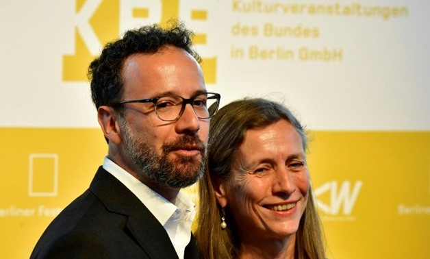 AFP / Tobias SCHWARZ - Italian Carlo Chatrian (left) and Holland's Dutch Mariette Rissenbeek after the announcement in Berlin they will be the future artistic director and the future managing director of the International Berlinale Film Festival.