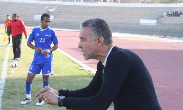 FILE - Coach Abdel Rahim Mohamed