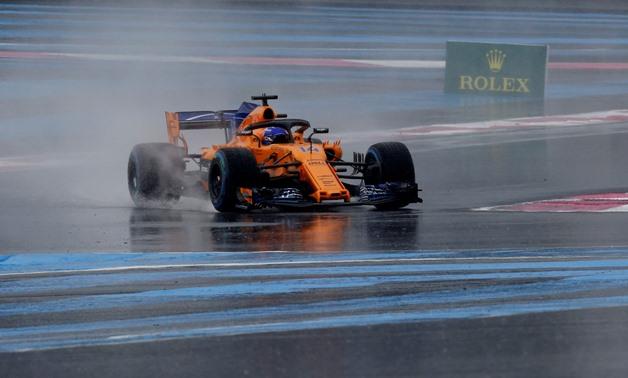 Formula One F1 - French Grand Prix - Circuit Paul Ricard, Le Castellet, France - June 23, 2018 McLaren's Fernando Alonso during practice REUTERS/Jean-Paul Pelissier