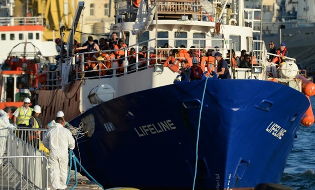 The MV Lifeline, a vessel for the German charity Mission Lifeline, arrived in Malta with 234 migrants onboard, most of them from Sudan