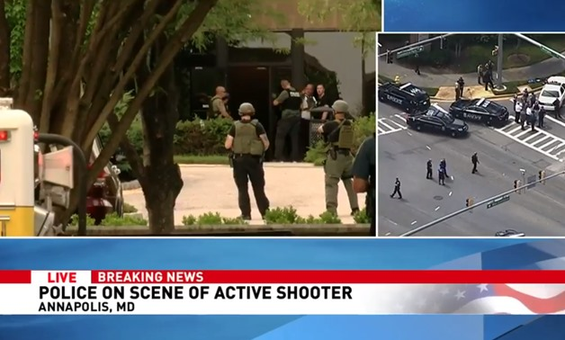 PRESS: A gunman has opened fire at Capital Gazette in Annapolis