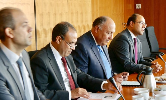 FM Shoukry discusses terrorism, trade with Bundestag members on Tuesday, July 3 – Press Photo