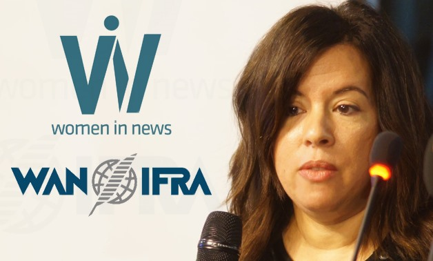 Farag became the first Arab woman to ever join WAN-IFRA's board of directors and the executive committee – Photo compiled by Egypt Today