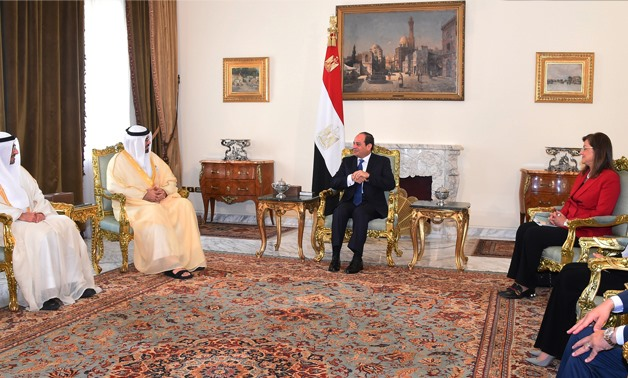 PRESS: During the meeting, on July 4, President Sisi expressed the feeling of brotherhood and affection of the Egyptian people for the UAE, led by President Sheikh Khalifa bin Zayed Al Nahyan