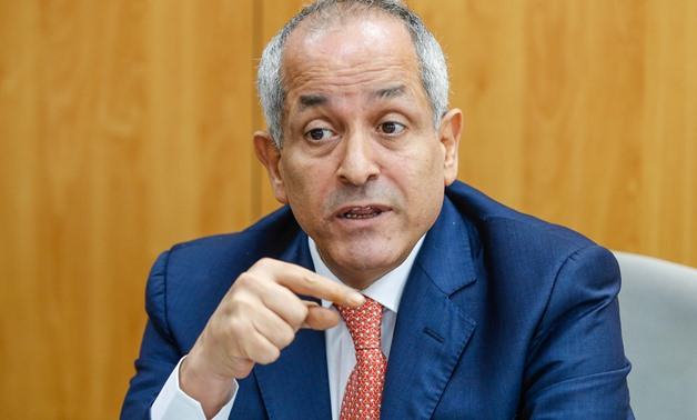 Jordanian ambassador to Egypt Ali al-Ayed in a round table  held by Egypt Today on July 2, 2018 - Egypt Today/Karim Abdel-Aziz
