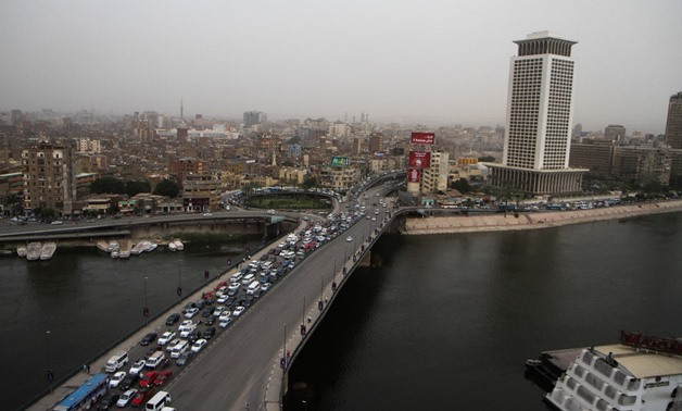 An Overview for the Nile River in Cairo - Photo by Hassan Mohamed