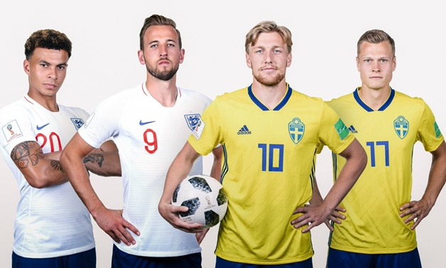 England vs Sweden – Courtesy of FIFA World Cup official account on Twitter